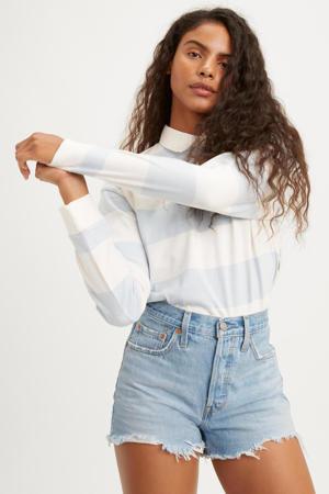 501 ORIGINAL SHORT high waist jeans short luxor heat