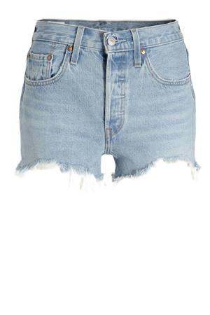 501 ORIGINAL SHORT high waist jeans short luxor heat