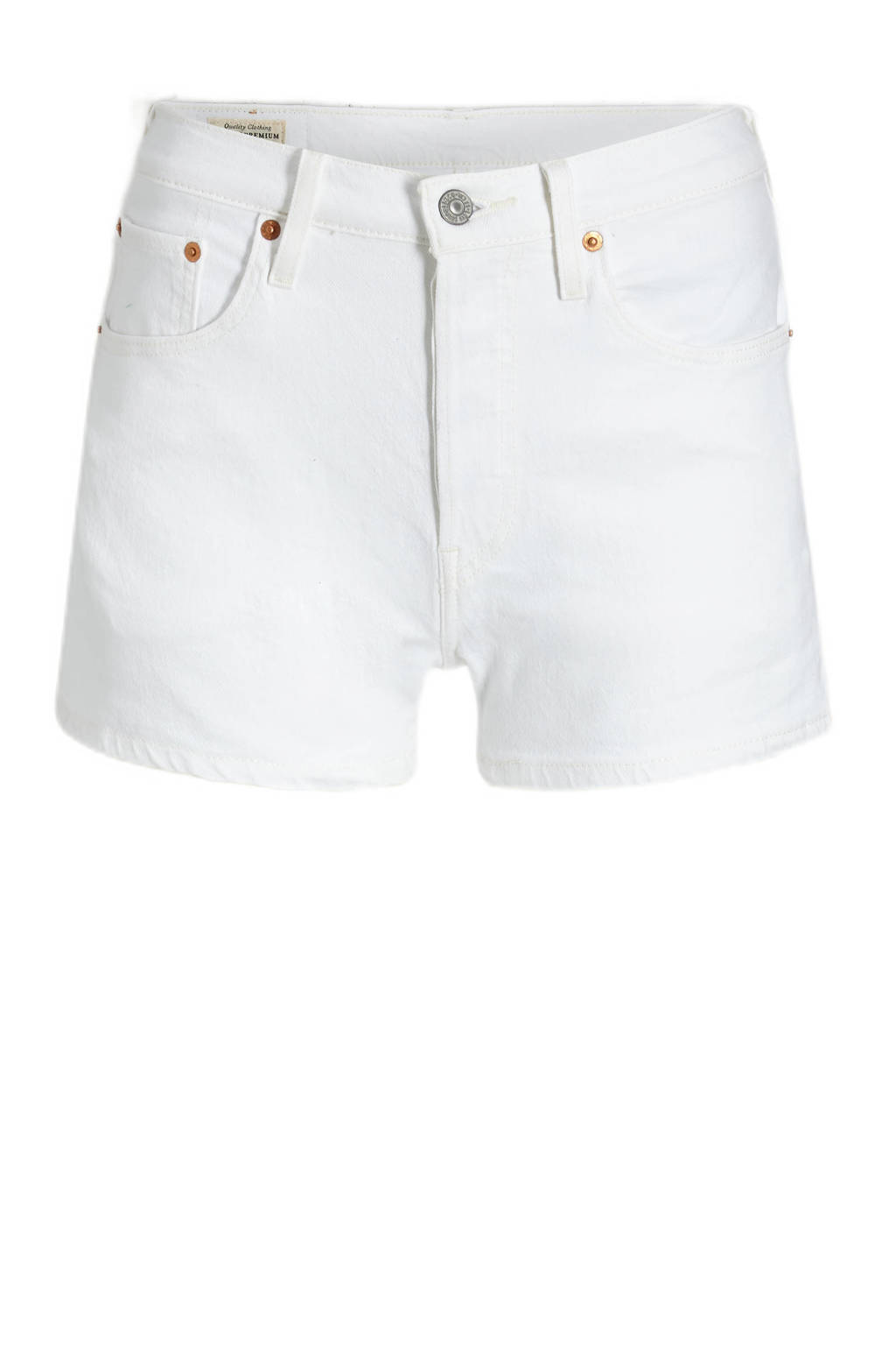 Levi's 501 ORIGINAL SHORT high waist jeans short in the clouds, IN THE CLOUDS