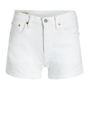 501 ORIGINAL SHORT high waist jeans short in the clouds
