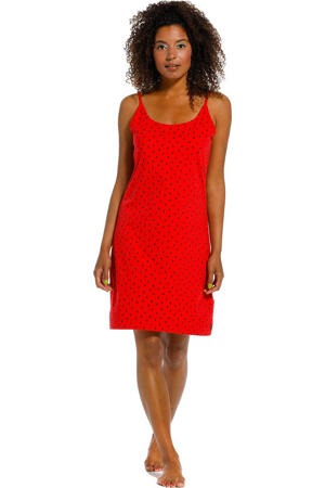 slipdress rood
