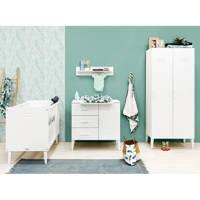 Bopita 3-delige babykamer Wit Locker