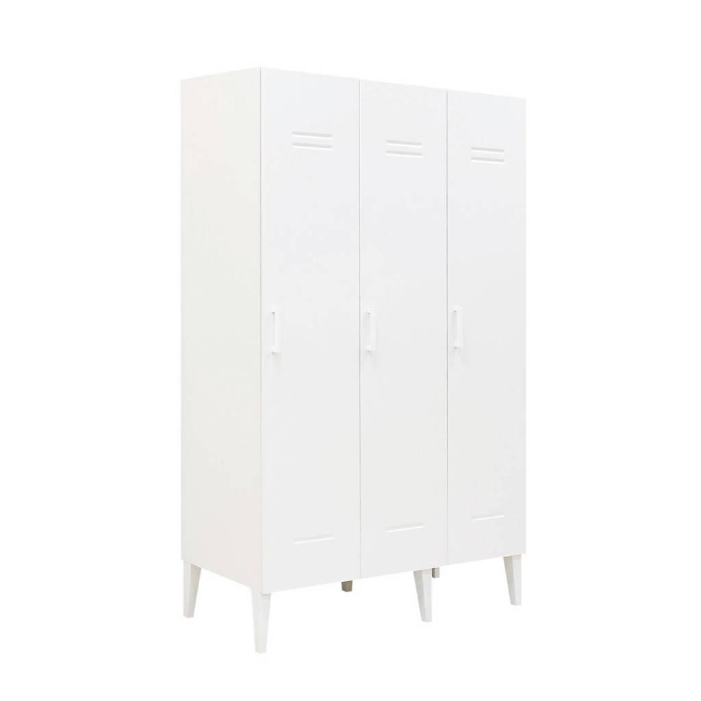 Bopita 3-deurskast Locker Wit