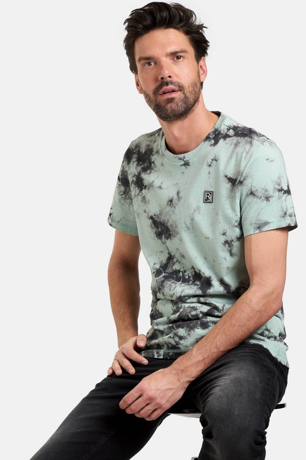 Refill by Shoeby T-shirt Tommy met all over print groen, Groen