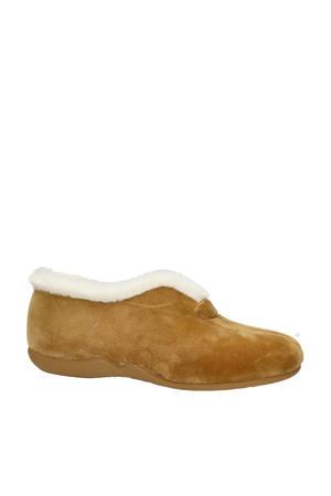 pantoffels camel