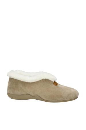 pantoffels beige