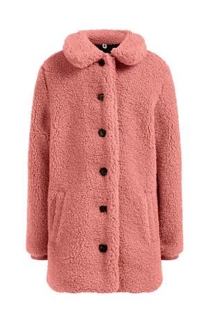 teddy winterjas guava pink