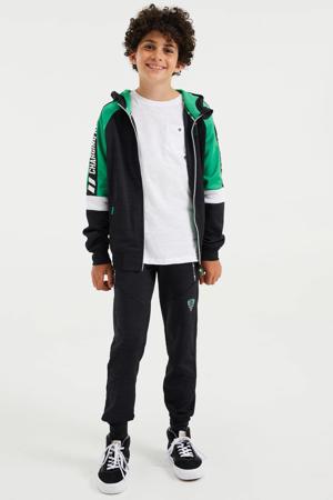 vest antraciet/groen
