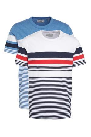 T-shirt Neil - (set van 2)