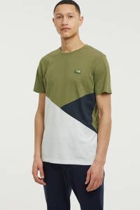 JACK & JONES CORE T-shirt Pop olijfgroen/wit/donkerblauw, Olijfgroen/wit/donkerblauw