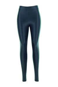 Oroblu imitatieleren legging donkerblauw, Donkerblauw