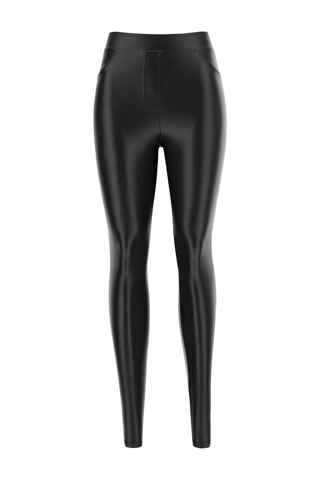 Oroblu gecoate jegging Pearl zwart, Zwart