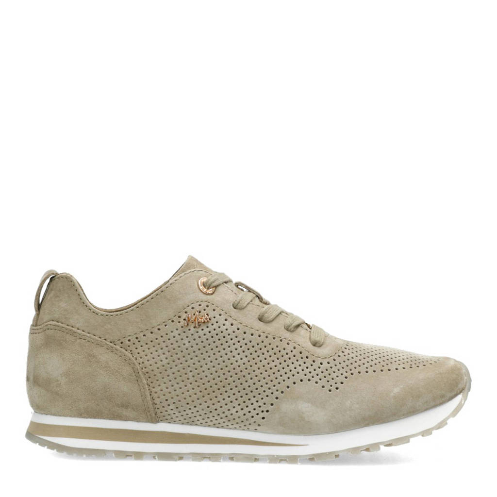 Mexx Cirsten  suède sneakers taupe, Taupe