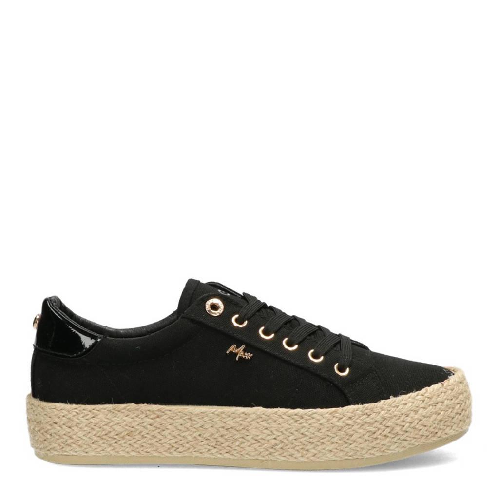 Mexx Chevelijn  sneakers zwart, Zwart