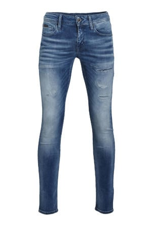 tapered fit jeans Ozzy blue denim