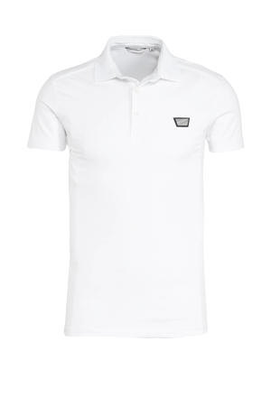 slim fit polo wit