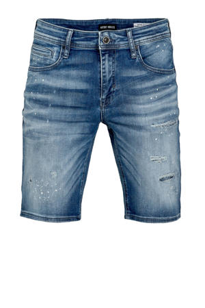 skinny jeans short Dave blue denim