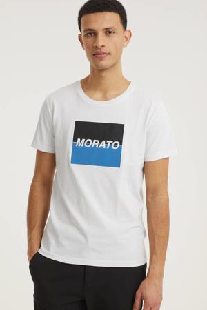 T-shirt met logo 100% katoen