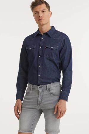 skinny jeans short Dave 9001 grey steel