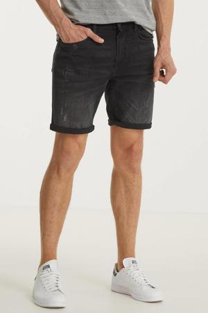 skinny jeans short Dave zwart