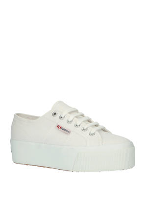 2790  plateau sneakers wit