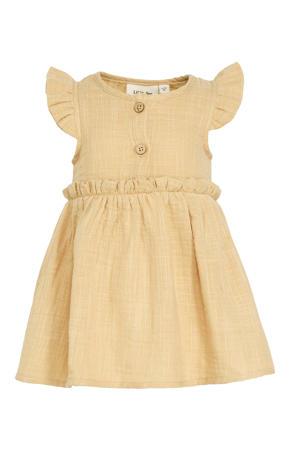 jurk Fina van biologisch katoen beige