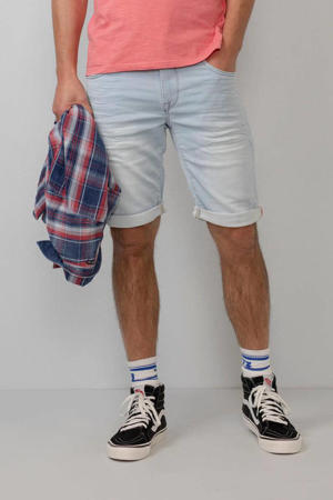 regular fit jeans short Jackson light denim