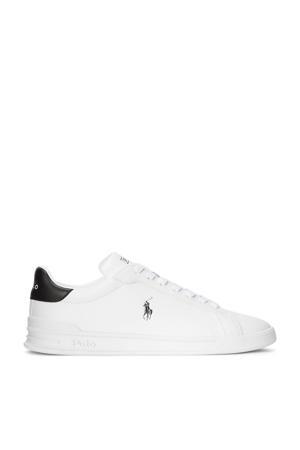 Heritage Court II  leren sneakers wit/donkerblauw