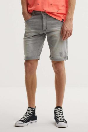 regular fit jeans short Blizzard lichtgrijs