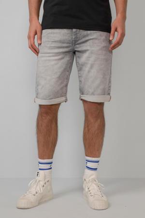 regular fit jeans short Jackson grijsblauw