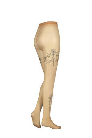 panty Leg Tattoos 15 denier nude