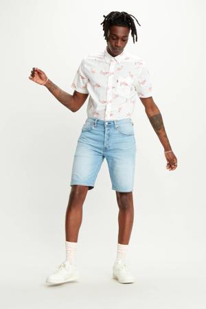 501 Hemmed regular fit jeans short bratwurst