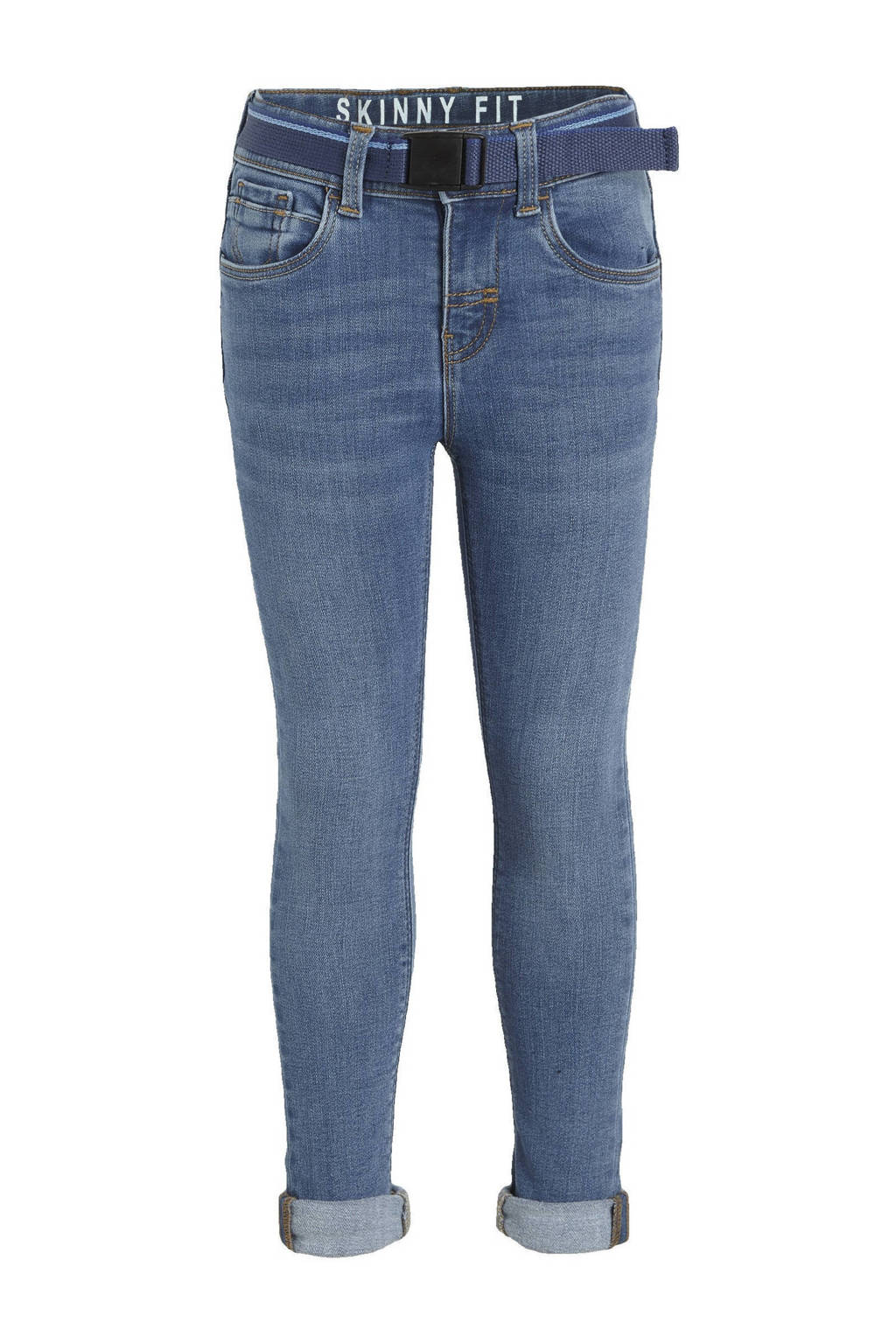 C&A Palomino skinny jeans blauw, Blauw