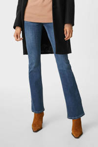 C&A The Denim flared jeans dark denim, Dark denim