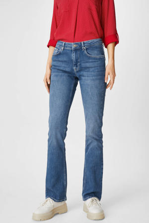 bootcut jeans blauw