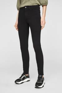s.Oliver skinny jeans zwart, Zwart