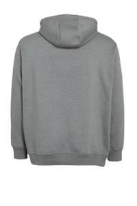s.Oliver hoodie met printopdruk antraciet, Antraciet