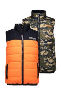 TYGO & vito bodywarmer - set van 2 multi colour, Oranje