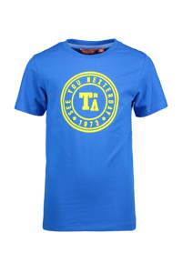 TYGO & vito T-shirt met biologisch katoen blauw/groen, Blauw/groen