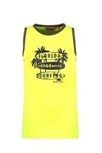 TYGO & vito T-shirt met biologisch katoen geel, Geel