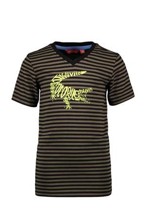 T-shirt met biologisch katoen groen