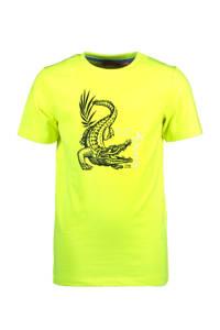 TYGO & vito T-shirt met dierenprint geel/zwart, Geel/zwart