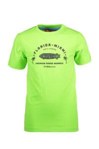 TYGO & vito T-shirt met printopdruk groen, Groen