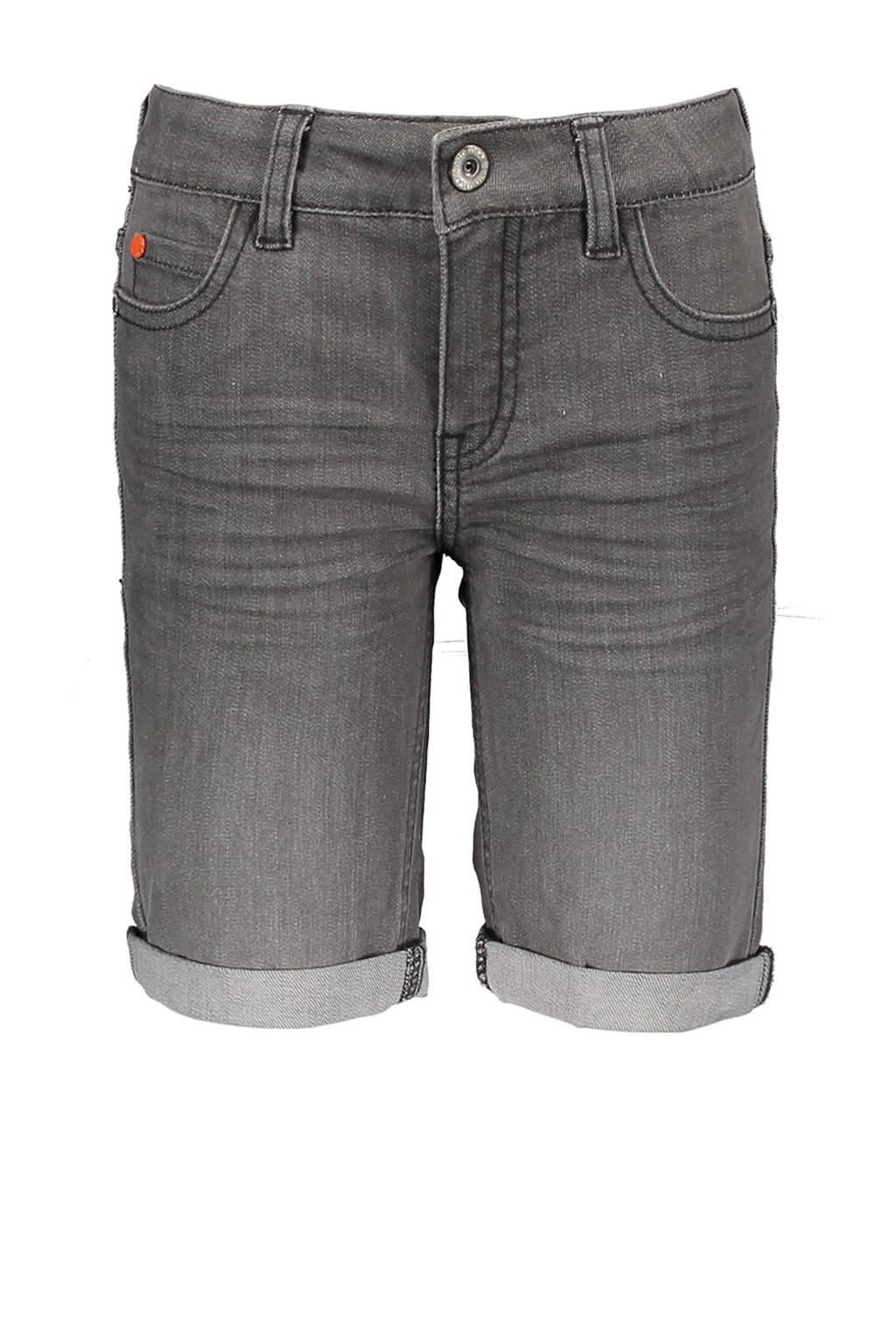 TYGO & vito slim fit jeans bermuda grijs stonewashed, Grijs stonewashed