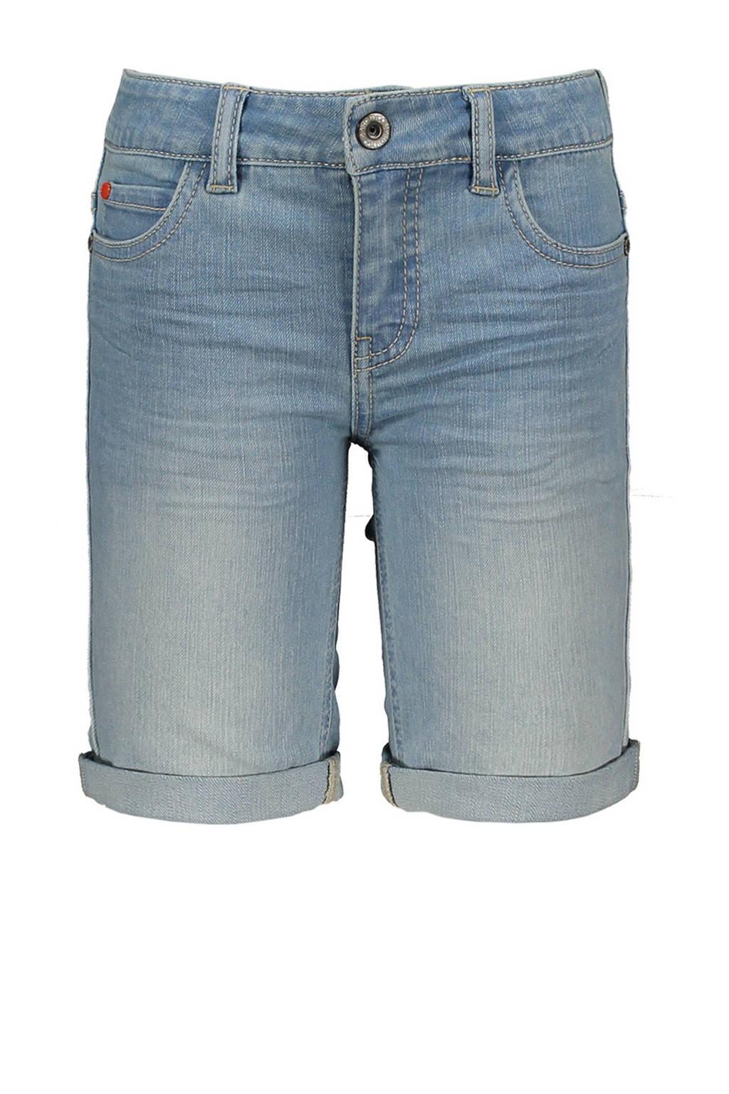 TYGO & vito slim fit jeans bermuda light denim, Light denim
