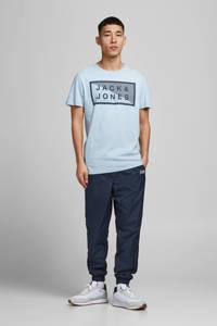 JACK & JONES CORE T-shirt Shawn van biologisch katoen lichtblauw, Lichtblauw