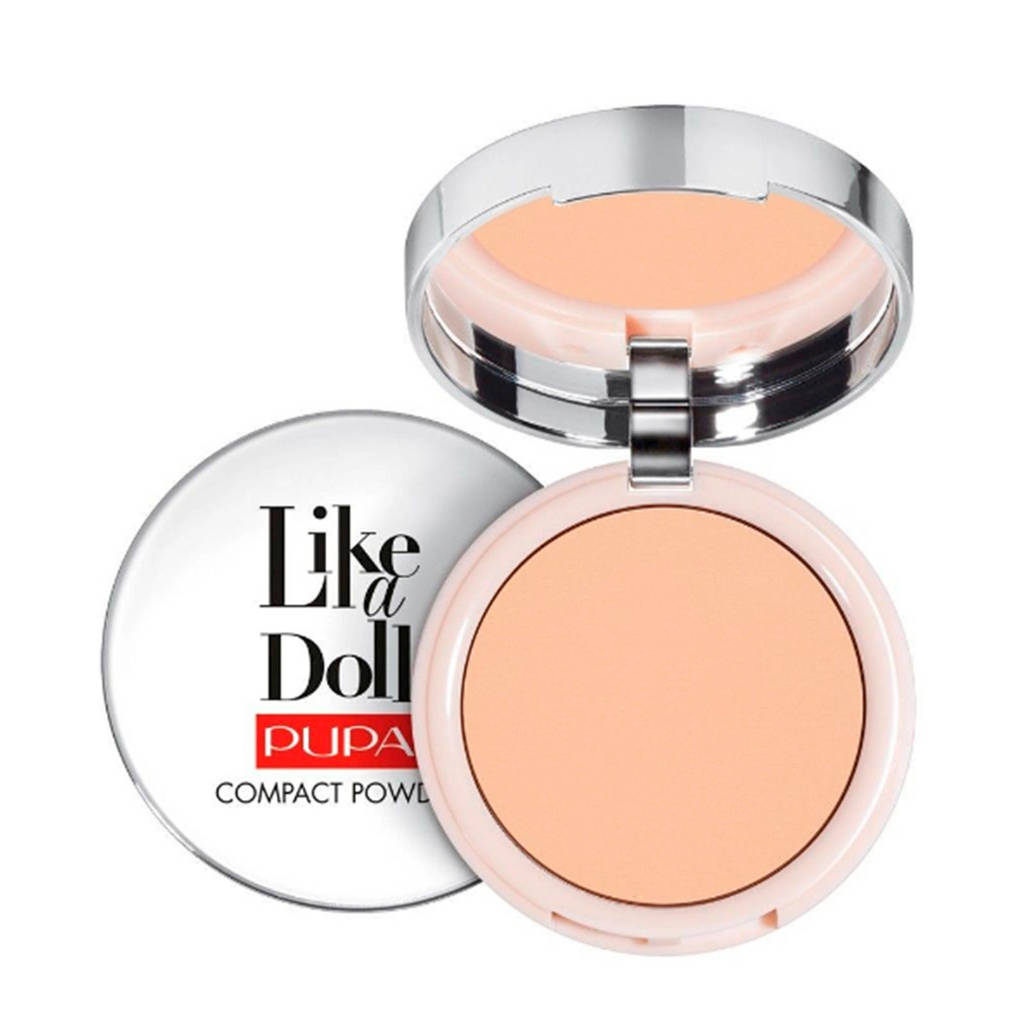 Pupa Milano Like A Doll Nude Skin Compact poeder - 003 Natural Beige