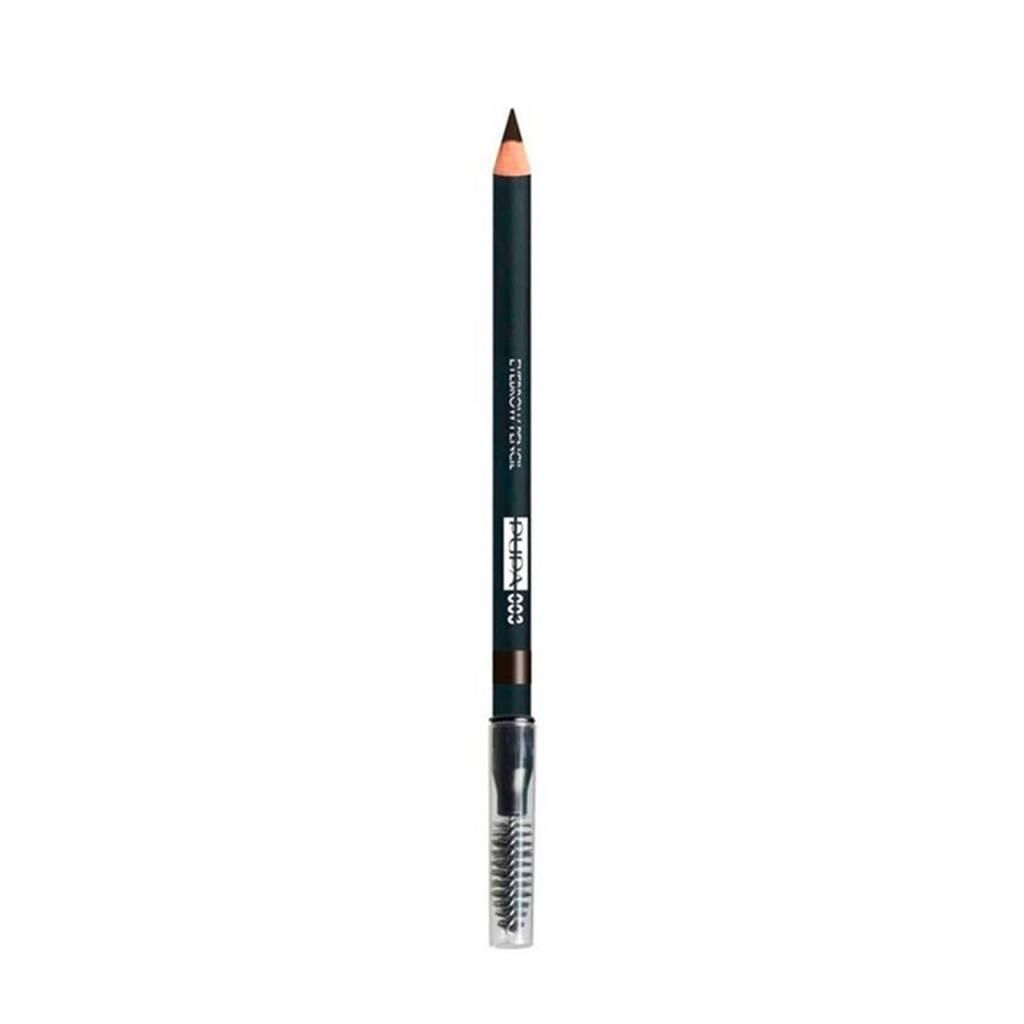 Pupa Milano Eyebrow Pencil wenkbrauwpotlood - 002 Brown