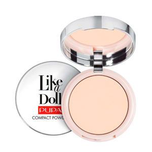 Like A Doll Nude Skin Compact poeder - 001 Porcelain