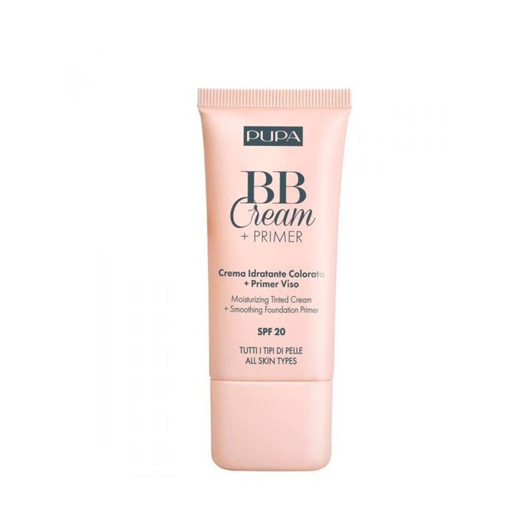 Pupa Milano BB Cream + primer - 001 Nude